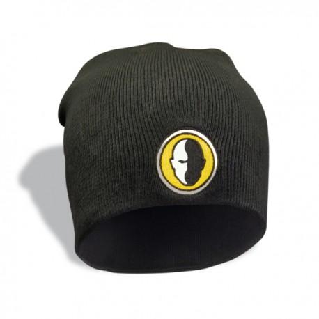 Czarna czapka zimowa HB