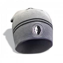 Szara czapka zimowa HB